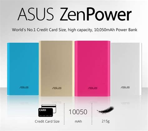 Asus Powerbank 10050mah Original jual powerbank asus 10050mah original zenpower 10050 mah