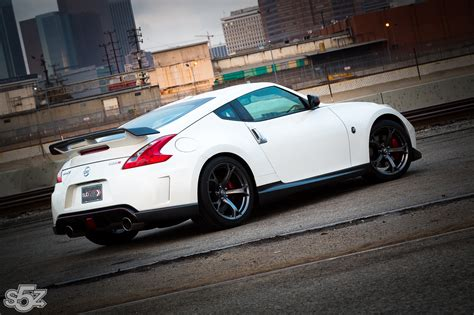 nissan 370z nismo wrapped nissan 370z nismo package