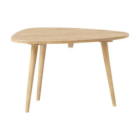 solid mango wood vintage coffee table w 62cm trocadero