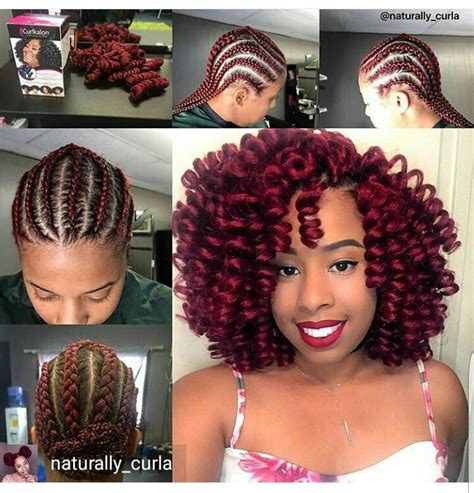 jamaican bounce crochet hair install and then separate curls 371 best images about crochet braids on pinterest wand