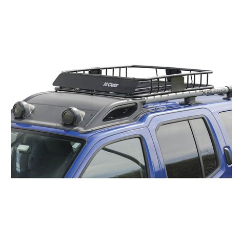 Curt Roof Rack curt 18115 roof mounted cargo rack sport carrier for