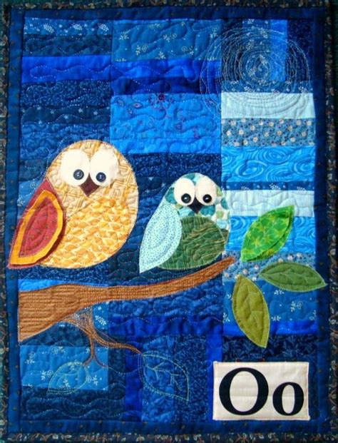 Patchwork Wall Hanging Patterns - owl applique wall hanging pattern by patchwork posse craftsy