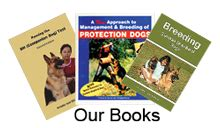 in our dogs books gsd home page