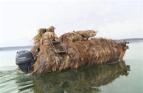g3 waterfowl boats gator tough 18 dk duck blind option duck boats duck