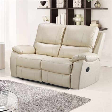 cream leather sectional sofa cameo ivory cream leather reclining sofa collection