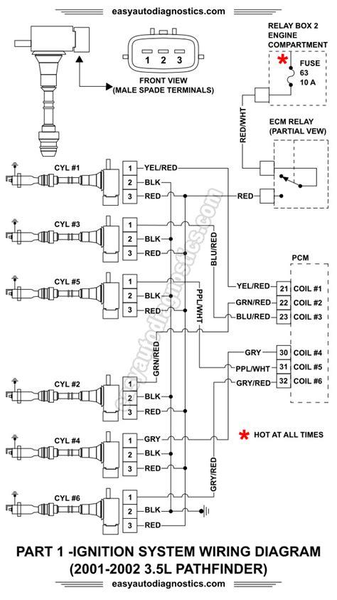 Part 1 -2001-2002 3.5L Nissan Pathfinder Ignition System