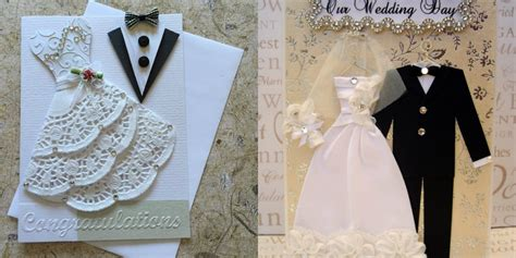 A Handcrafted Wedding - unique handmade wedding card design www pixshark
