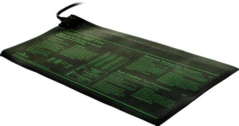 Seed Starter Mat by Garden Seedling Heat Mat Hydroponics Propagation Root Seed Starter Kit Germination Heating Pad