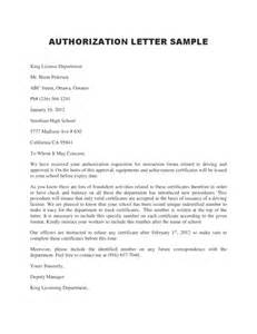 authorization letter template 1 legalforms org