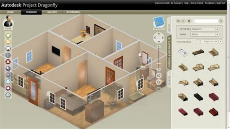 Online 3d Design Software online 3d home design software from autodesk create floor plans