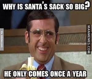 why santas sack so big christmas meme jokes memes