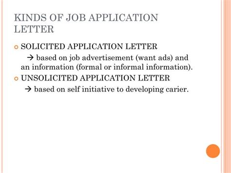 application letter sle ppt application letter powerpoint presentation 28 images