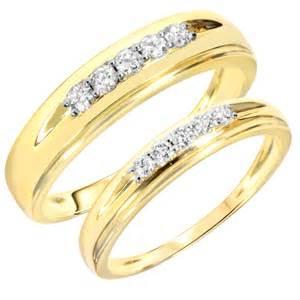 gold wedding sets bridal sets yellow gold bridal sets wedding rings