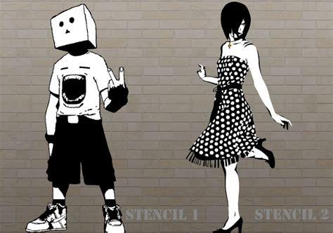 graffiti stencils  sample  format