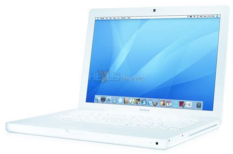 Macbook White apple intros hotly awaited small screen intel powered mac
