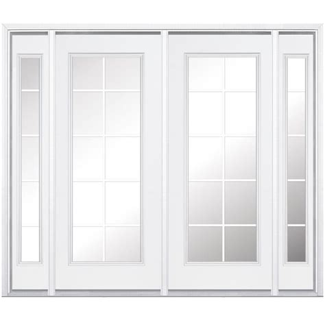 Masonite 96 In X 80 In Prehung Right Hand Inswing 10 Masonite Patio Doors