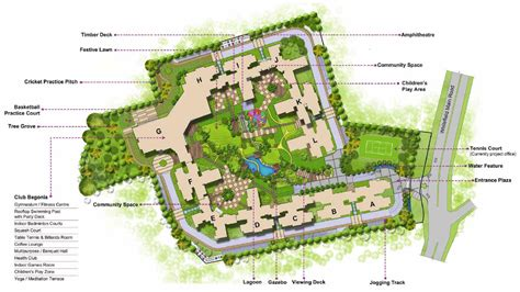 site plan design luxurious apartments site plans brigade cosmopolis site