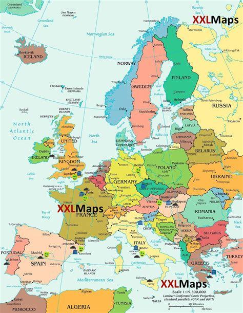 maps mobile in italiano la mappa politica europa gratuito per
