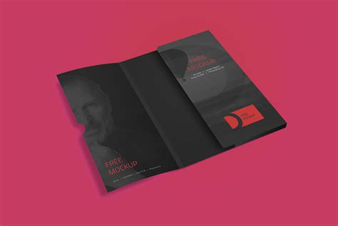 Corporate Folder Mockup Free Psd Download Mockup Free Folder Mockup