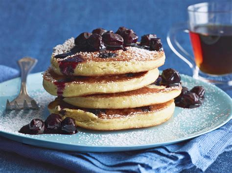 recipe blueberry pancakes cake mix blueberry pancakes recipe food network kitchen