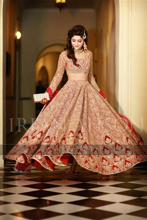 Wedding Bridal Pics by New Barat Dresses Designs For Wedding Brides 2018