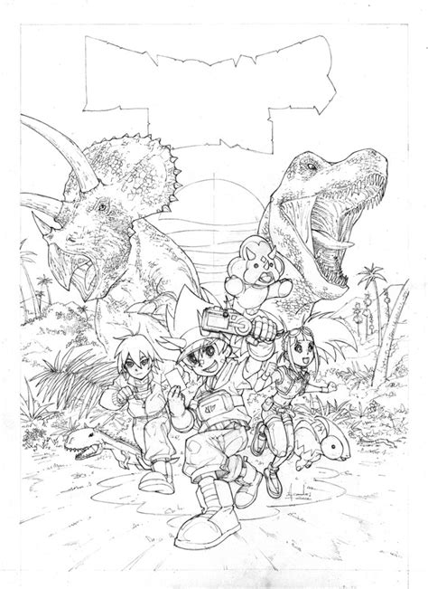 dinosaur king coloring pages ace dinosaur king by ultimaterubberfool on deviantart