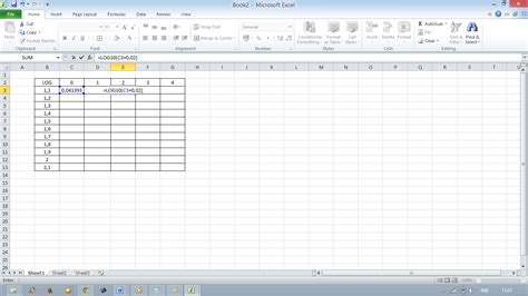 Contoh Microsoft Excel contoh fungsi matematika di ms excel bagi ilmu