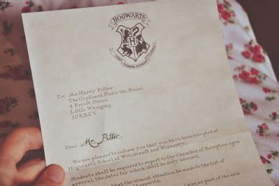 Hogwarts Acceptance Letter Prop issie s random musings harry potter montage countless