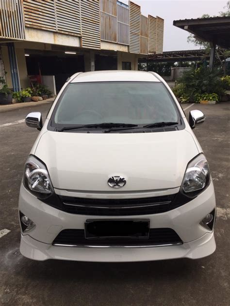 Karpet Mobil Toyota Agya toyota agya trd s a t 2014 warna putih mobilbekas