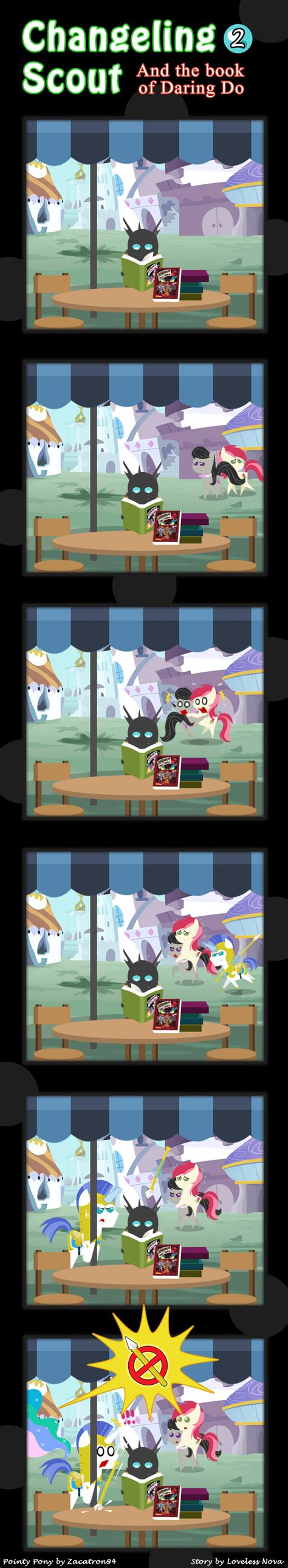 daring the candomble guard books changeling scout and the book of daring do 02 by vavacung