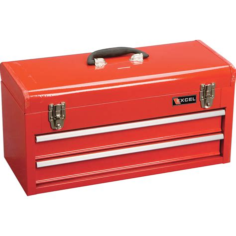tool box excel portable toolbox 2 drawers model tb132 tool
