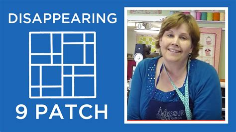 Disappearing Nine Patch Quilt Block Tutorial   YouTube