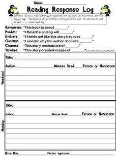 printable reading log with questions 1000 images about reading logs on pinterest reading