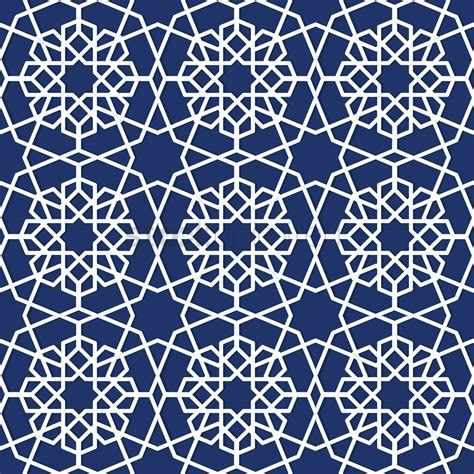 geometric pattern islamic architecture islamic geometric pattern design vector image 1979679