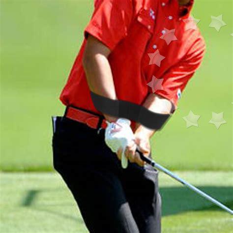 straight arm golf swing trainer black swing golf power band trainer training aid