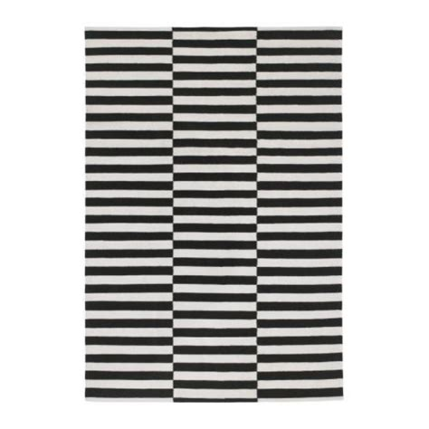 ikea rugs 5x8 ikea stockholm rand area rug black white stripe wool contemporary 5x8