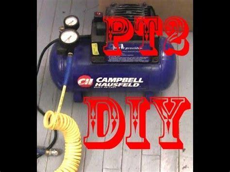 cbell hausfeld 100 2 gal air compressor repair pt2