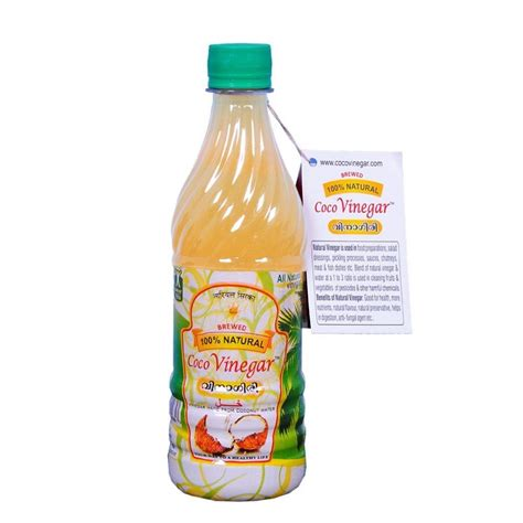 vinegar in s water buy coconut vinegar cocovinegar 480ml made from coconut water india