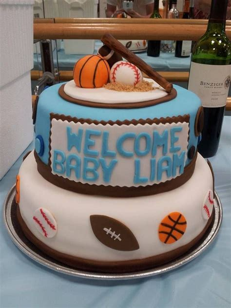 Sports Baby Shower Cakes by 25 Best Sport Cakes Ideas On Birthday Cake