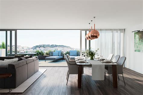 design apartment lisbon architectural rendering architectural visualization and