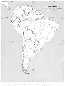 south and central america blank map blank map of central and south america quiz