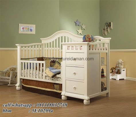 Ranjang Plus Laci box bayi minimalis plus laci serba guna furniture idaman