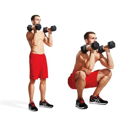 dumbbell squat the 30 best legs exercises of all time