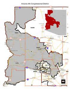 map of arizona 4th congressional district my