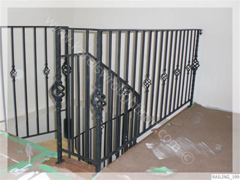 Wrought Iron Handrail Wrought Iron Railing Railing 199 Jpg