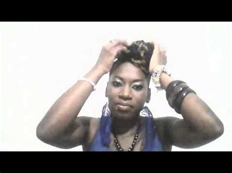 kinky twist with shaved sides kinky twist mohawk with sides shaved youtube