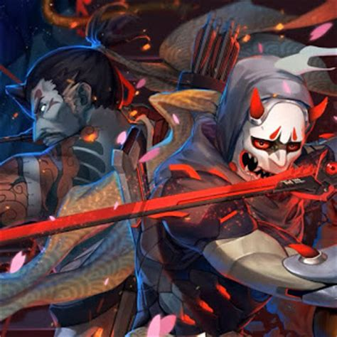 wallpaper engine genji wallpaper engine hanzo genji overwatch wallpaper live