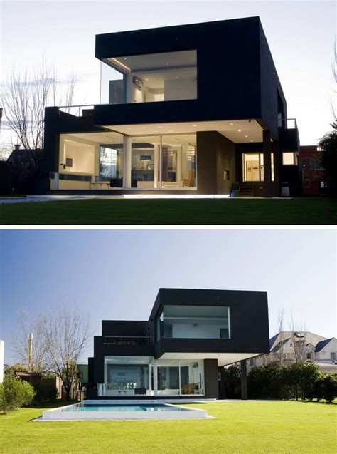 the house is black house exterior colors 14 modern black houses from around the world contemporist