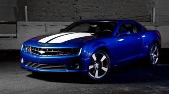 blue chevrolet camaro 6987519
