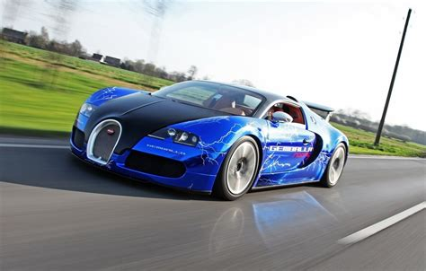 modified bugatti 2012 bugatti veyron sang gemballa blue by gemballa racing